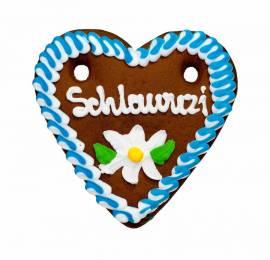 Wiesn Lebkuchenherzen 13 x 14  ,bayerische Sprüche, 12-fach sortiert , Oktoberfest ,Kirmes,Volksfest - Bild vergrößern