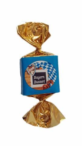 Bio Nougatbusserl  ,Zartbitter,Bayern Busserl 100 Stück - Bild vergrößern