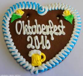 Lebkuchenherzen Spruch  Oktoberfest 2016 , Gastro,Wiesn - Bild vergrößern