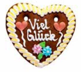 Oktoberfest Lebkuchenherzen Spruch Glückwünsche und Danke   Hersteller