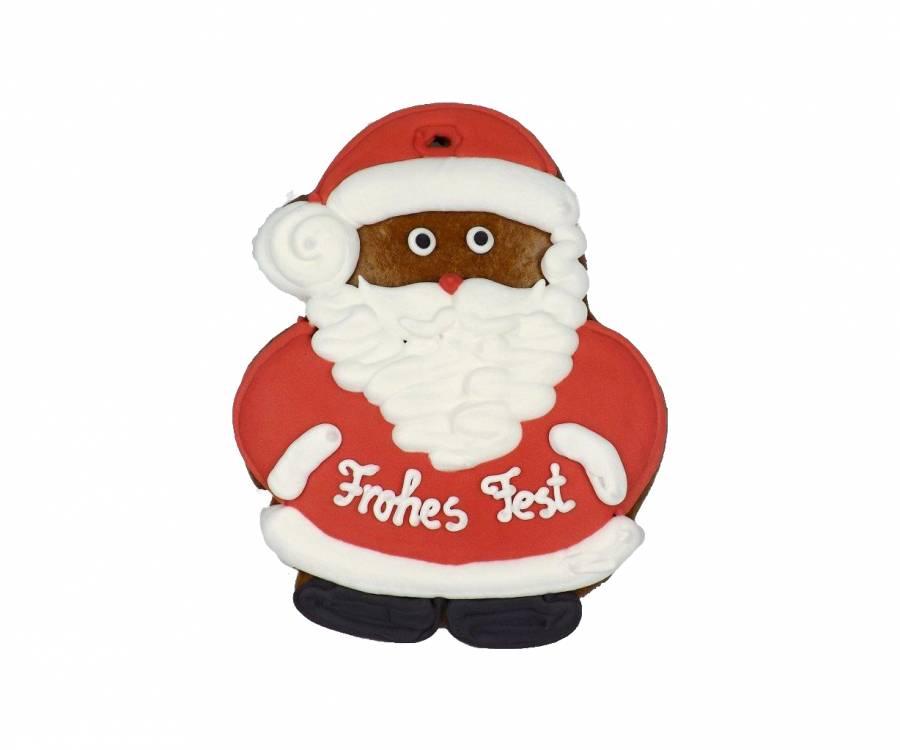 Lebkuchen Weihnachtsmann, 15 cm