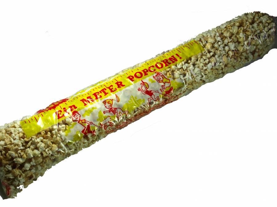 Popcorn salzig ,400 Gramm ,fast 1 Meter wie vom Volksfest