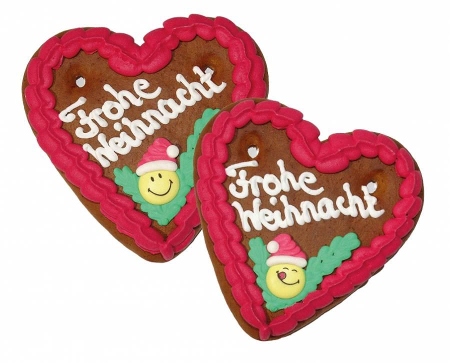 Lebkuchen Herz   mit Figur  13 x 14 cm