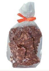 150 Gramm  Bruchschokolade Mandelsplitter