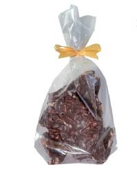 150 Gramm  Bruchschokolade Mandelsplitter Zartbitterschokolade