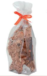 150 Gramm Bruchschokolade Mandeln Florentiner Art Zartbitterschokolade