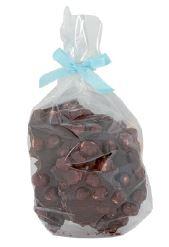 150 Gramm Bruchschokolade Haselnuss Zartbitterschokolade