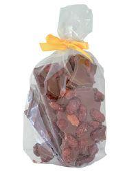 150 Gramm Bruchschokolade gebrannte Mandel Vollmilchschokolade