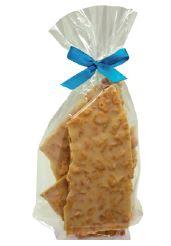 150 Gramm Bruchschokolade knusprige Maracuja