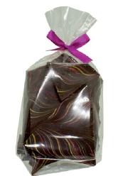 150 Gramm Bruchschokolade Himbeer Passionsfrucht,