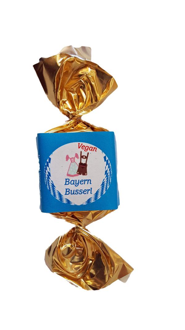Bio Nougatbusserl  ,Vegan ,Bayern Busserl 100 Stück