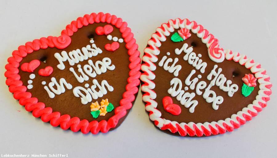Lebkuchenherzen Spruch,Mein Schatz ich lieb Dich