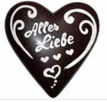 Schokoladenherz XXl ,40 x40 cm , auch mit Wunschtext