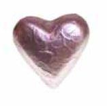 Schokoladenherz mini 3 x 4  cm  , 100 Stück
