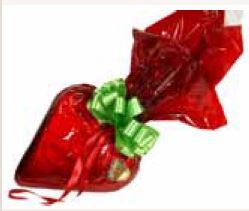 Schokoladenherzen mit Wunschtext 23 x 24  cm ,1 Stück