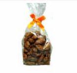 Gebrannte Mandeln 100 Gramm im Polybeutel ,Hochzeitsmandeln, 15 Beutel