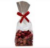 Gebrannte Mandeln mit Erdbeer  100 Gramm im Polybeutel,15 Beutel
